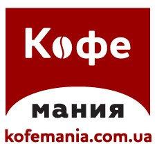 Логотип - Кофемания, магазин кофе и кофейного оборудования