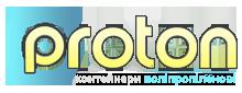 Логотип - Протон, прозводство полипропиленовой тары (биг-бег) полного цикла