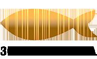 Логотип - Золотая Рыбка, заказать суши и пиццу с доставкой на дом и в офис в Харькове