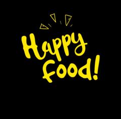 Логотип - Happyfood, доставка еды по Харькову