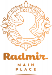 Логотип - Radmir Main Place, ресторан - ночной клуб