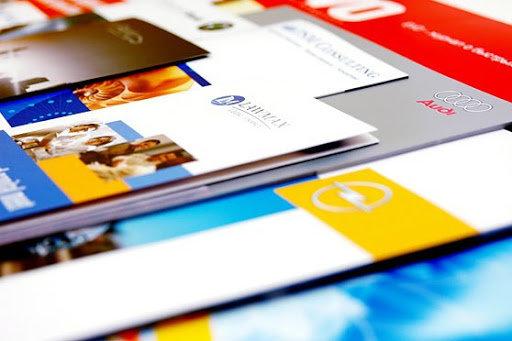Печать визитной карточки