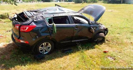 На Харьковщине перевернулся джип. Водитель погиб на месте (ФОТО), фото-1