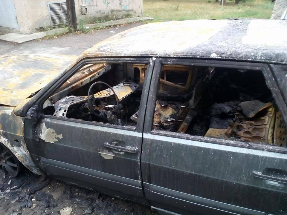 В Харькове неизвестные подожгли автомобиль журналиста (ФОТО) , фото-3