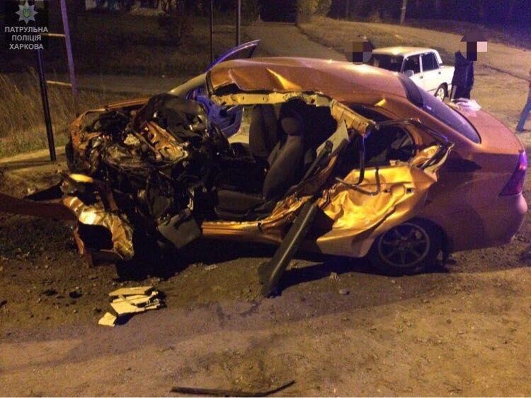 Тройное ДТП на окружной: машина всмятку, двое пострадавших (ФОТО) , фото-2