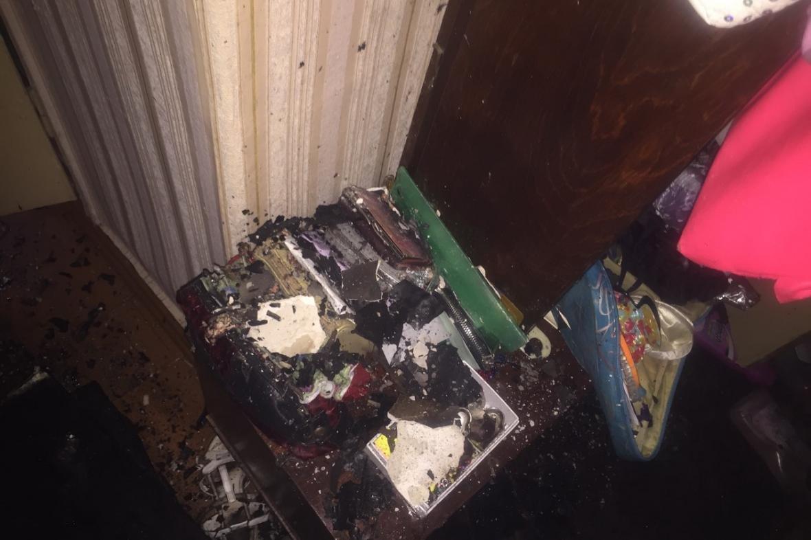 На Героев Труда спасатели тушили пожар в 12-этажном доме (ФОТО), фото-1