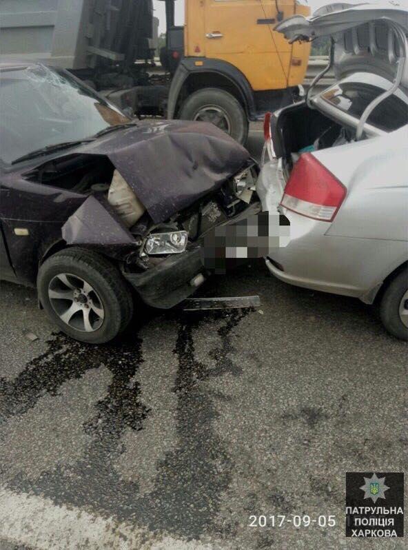 В тройном ДТП на окружной пострадали два человека (ФОТО) , фото-3