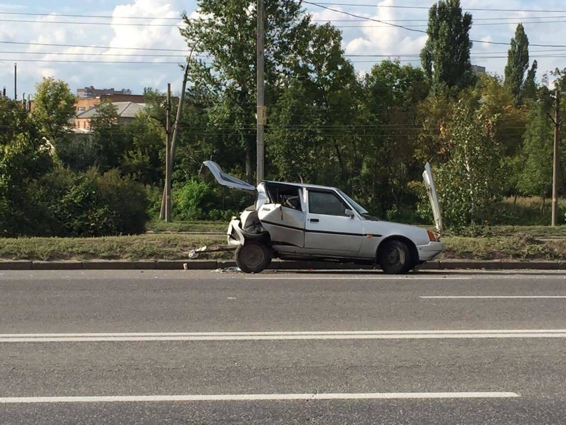 В Харькове не разминулись четыре автомобиля (ФОТО) , фото-4