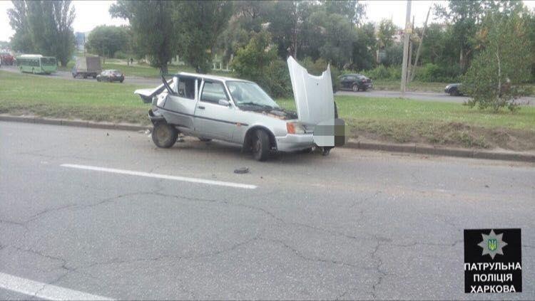 В ДТП на Полтавском Шляхе пострадали три человека (ФОТО) , фото-1