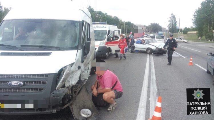 В ДТП на Полтавском Шляхе пострадали три человека (ФОТО) , фото-3