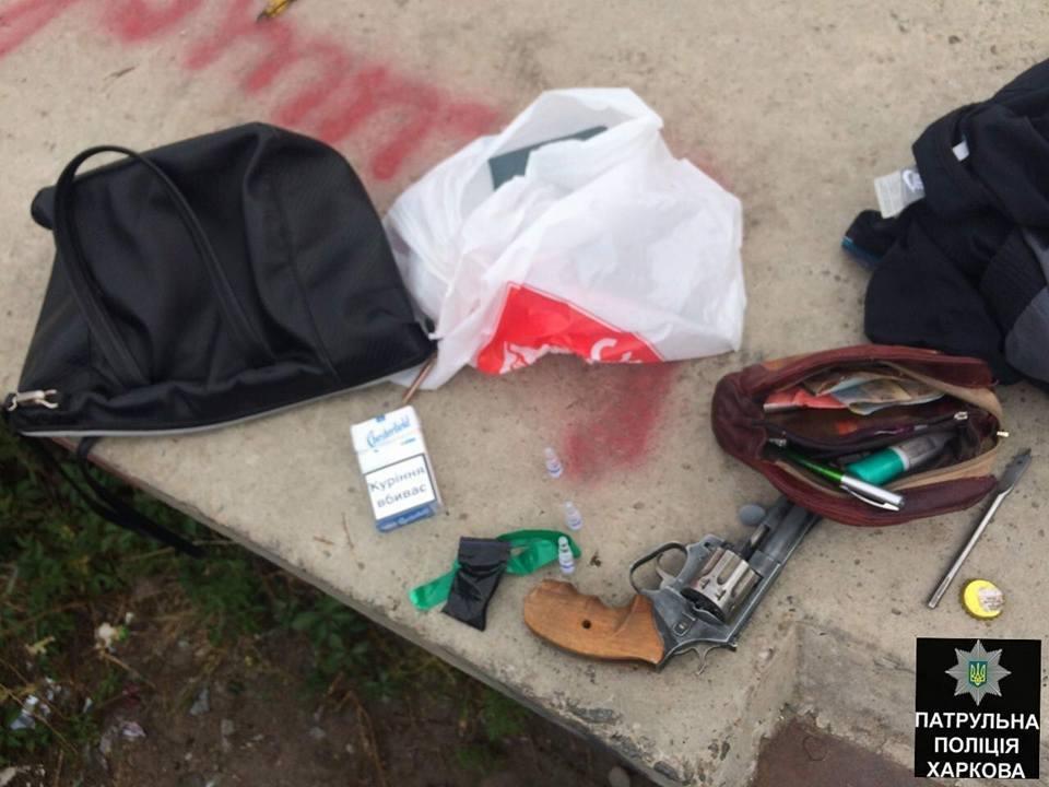 В Харькове разгуливала пара с наркотиками и оружием (ФОТО) , фото-3