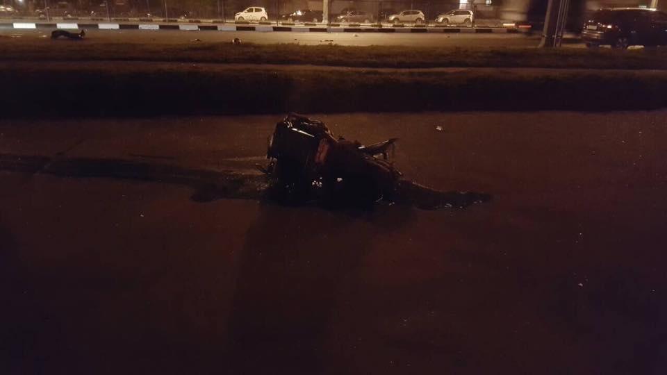 На проспекте Гагарина Mercedes разнесло об столб. Погибли трое иностранных студентов (ФОТО), фото-4