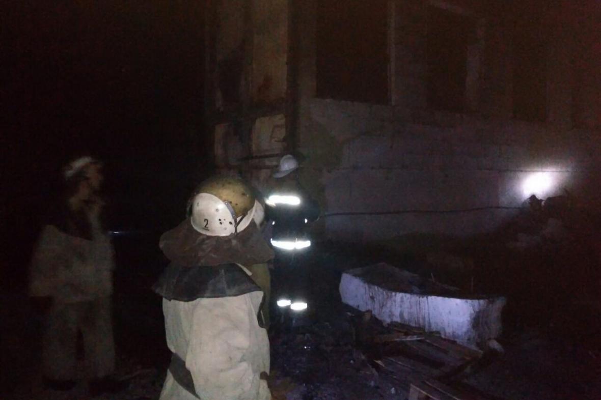 В Харькове горел склад с полипропиленом (ФОТО), фото-1