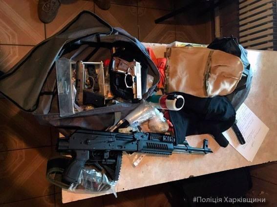 Харьковские силовики задержали мужчину с оружием (ФОТО), фото-1