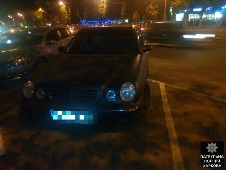 Харьковские патрульные задержали автомобиль, который находился в розыске (ФОТО), фото-1