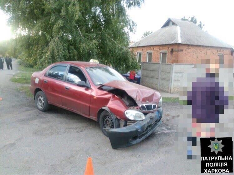 Авария с участием такси в Харькове: один человек в больнице (ФОТО) , фото-1