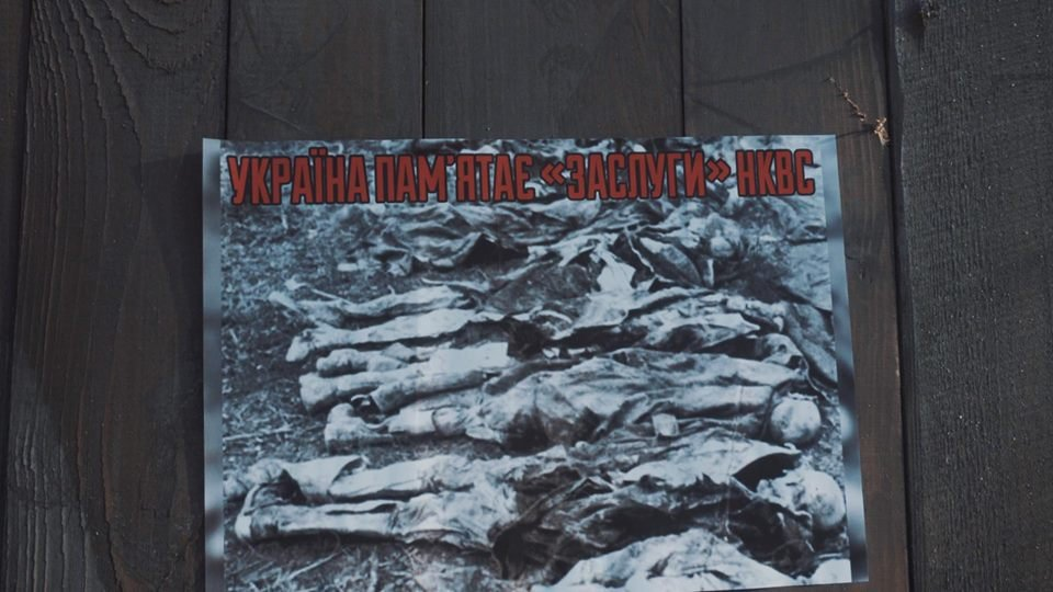 """Активисты """"Национального корпуса"""" разгромили декорации к военному сериалу, который снимают в Харькове и устроили потасовку с полицией , фото-11"""