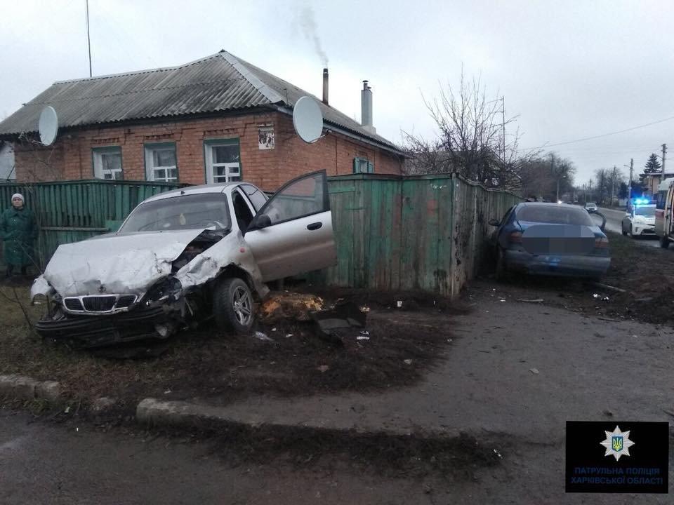 В Харькове не поделили дорогу ВАЗ и Lanos: два человека в больнице (ФОТО), фото-1