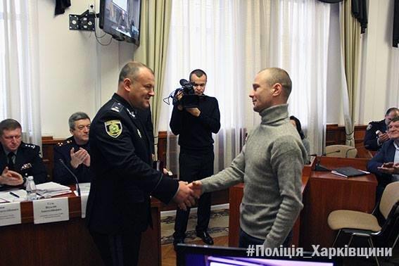 В Харькове наградили работников почты, которые обезвредили террориста (ФОТО), фото-2