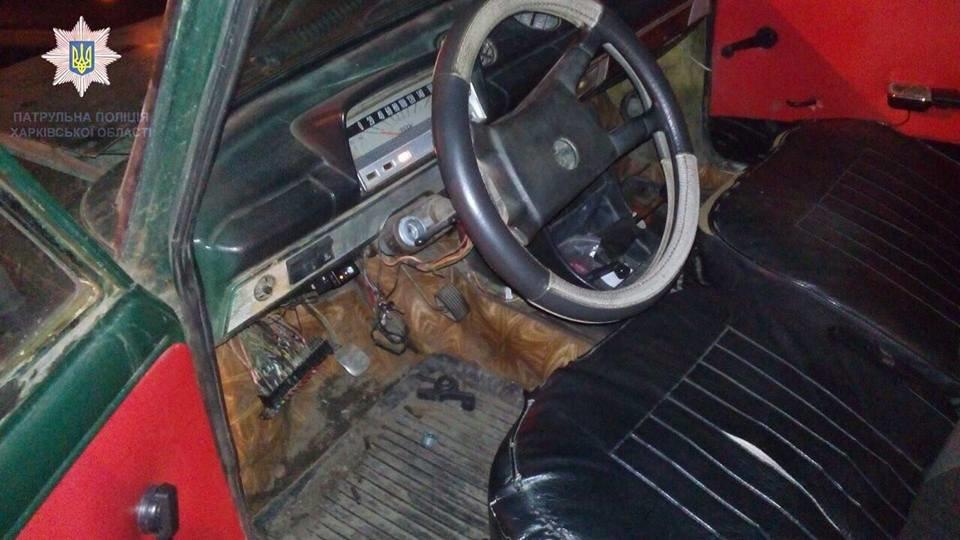 На Академика Павлова задержали водителя на угнанной машине, который устроил ДТП (ФОТО), фото-1