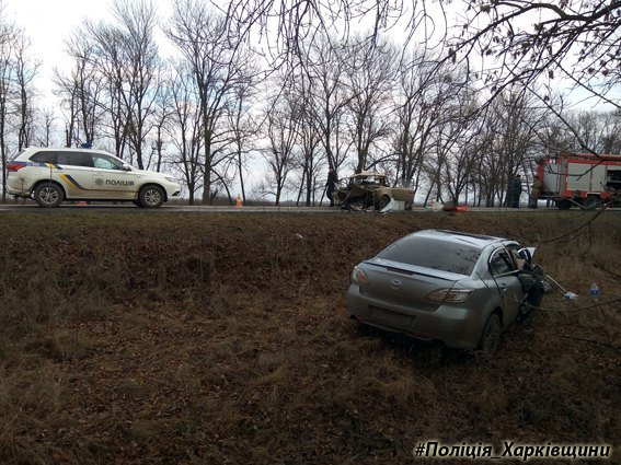 На Харьковщине столкнулись иномарка и ВАЗ: погибла женщина (ФОТО), фото-2