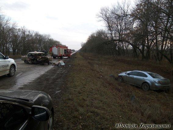 На Харьковщине столкнулись иномарка и ВАЗ: погибла женщина (ФОТО), фото-3