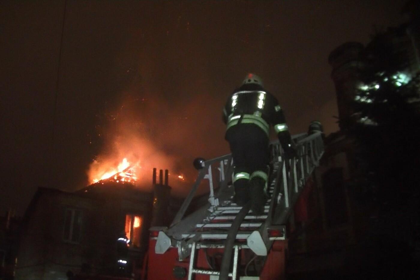 Пожарные восемь часов тушили нежилой дом в Харькове (ФОТО) , фото-2