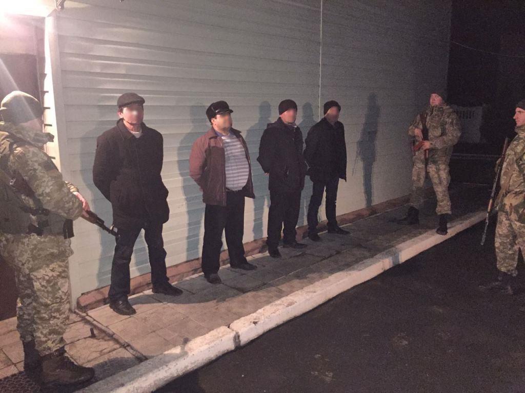 В Харьковской области трое иностранцев пытались незаконно пересечь границу (ФОТО) , фото-1