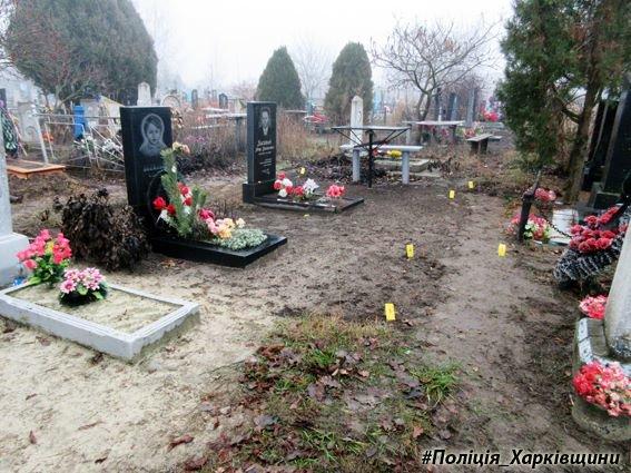 На Харьковщине рецидивист осквернял могилы (ФОТО), фото-2