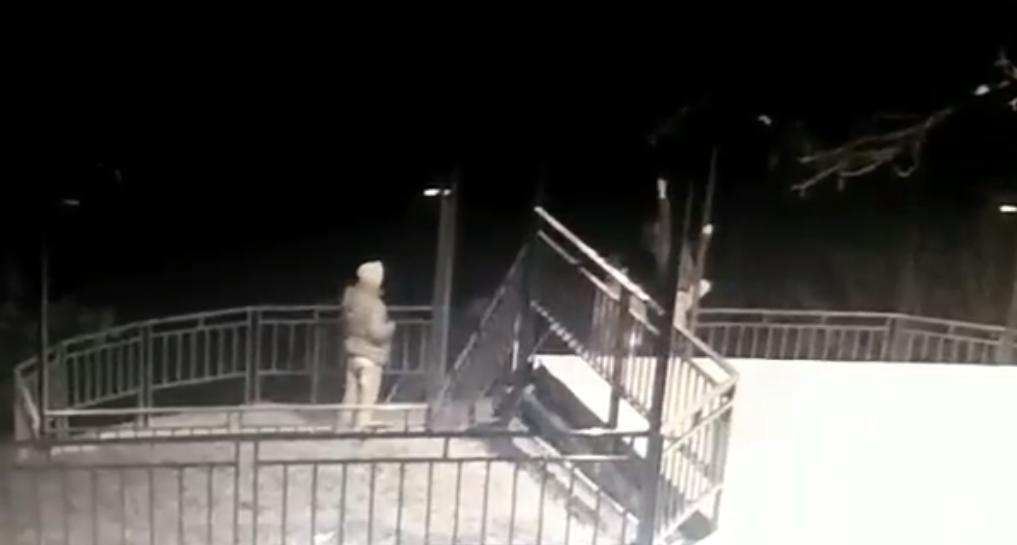 В Харьковской области вандалы разбили светильники на смотровой площадке (ФОТО) , фото-1