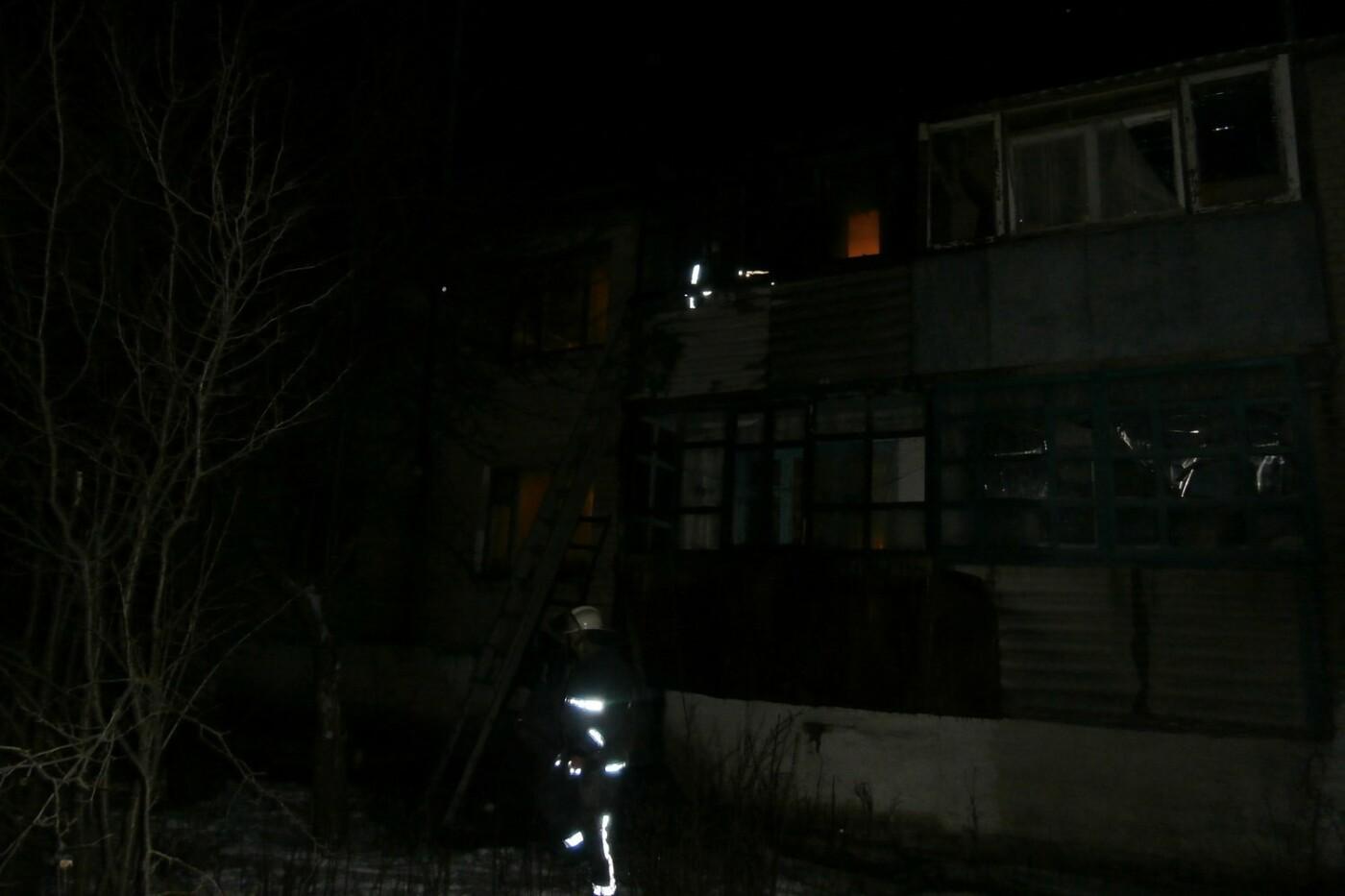 В Купянском районе горел двухэтажный дом: обошлось без жертв и пострадавших (ФОТО) , фото-1