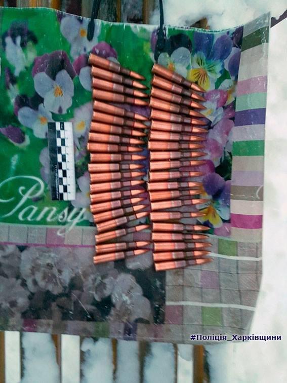 У харьковчанина на детской площадке изъяли сорок боеприпасов и гранату (ФОТО), фото-2