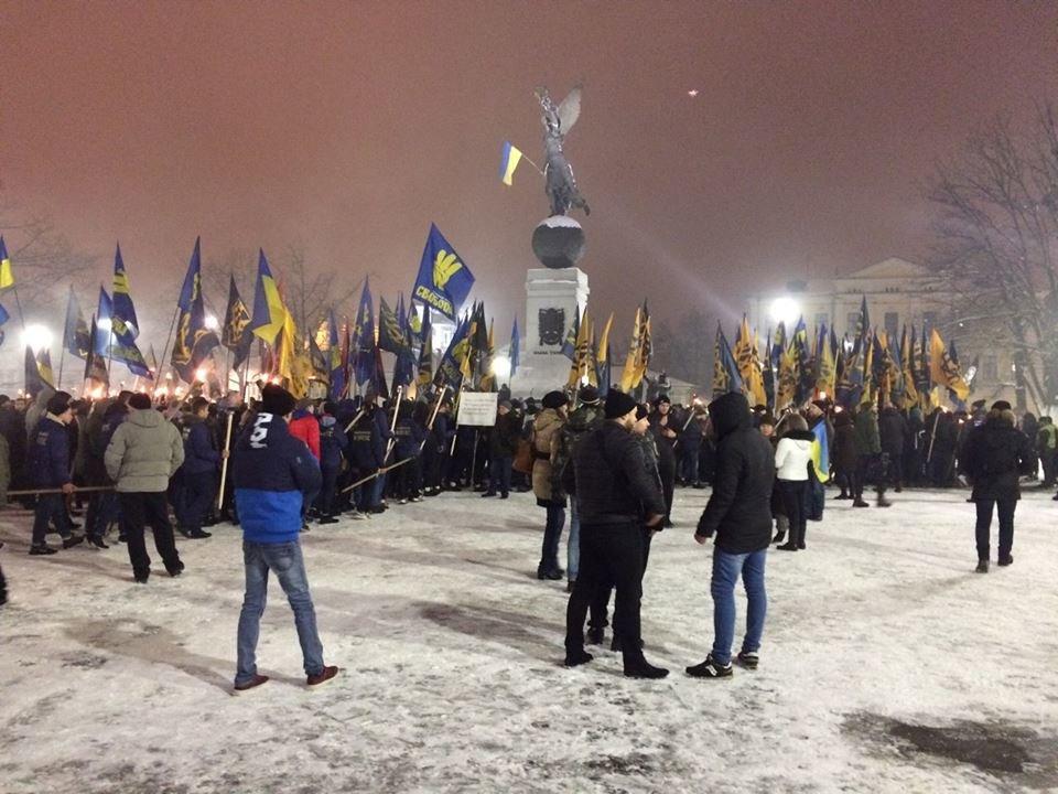100-летие боя под Крутами: в Харькове прошло факельное шествие (ФОТО) , фото-1