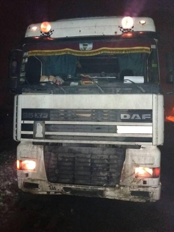 В Харьковской области грузовик насмерть сбил пешехода (ФОТО) , фото-1