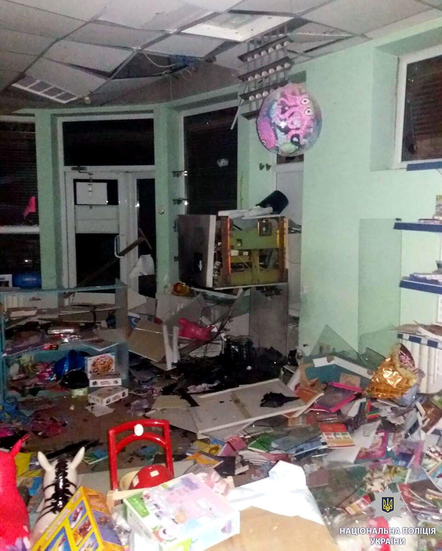 Возле харьковского магазина неизвестные взорвали банкомат (ФОТО), фото-5