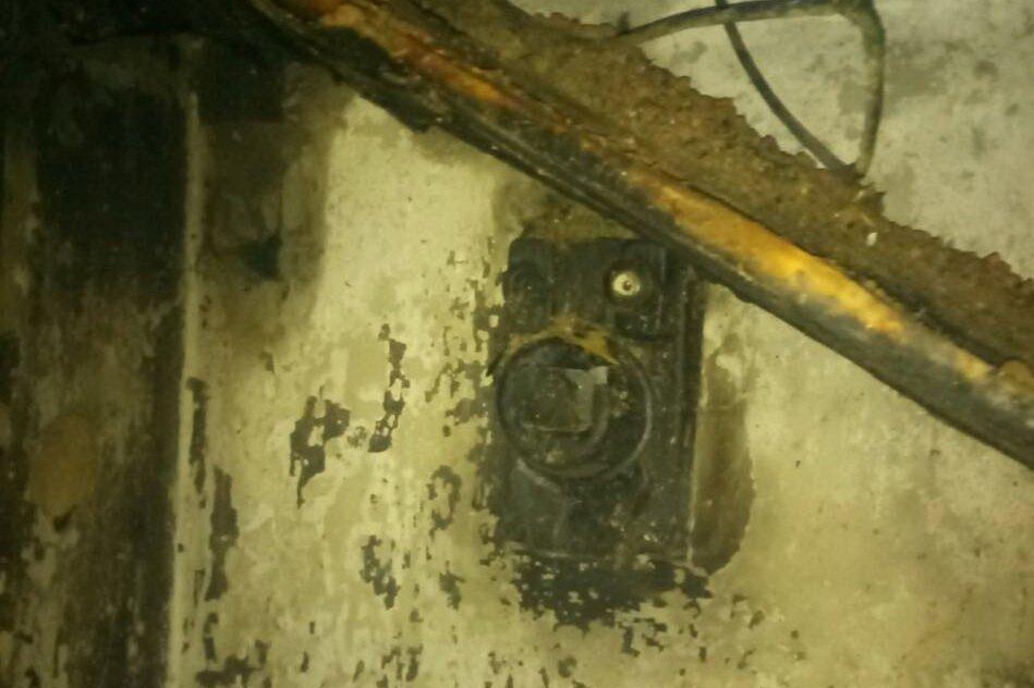На Харьковщине из-за короткого замыкания мужчина сгорел в собственном доме, - ФОТО, фото-2