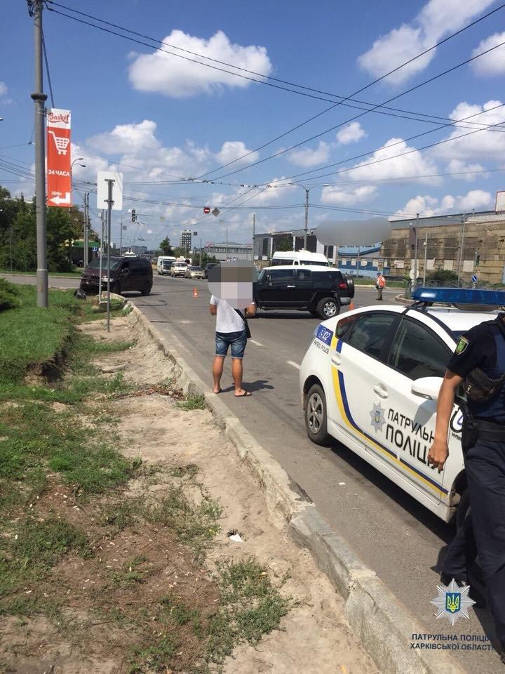 фото: пресс-служба патрульной полиции Харькова