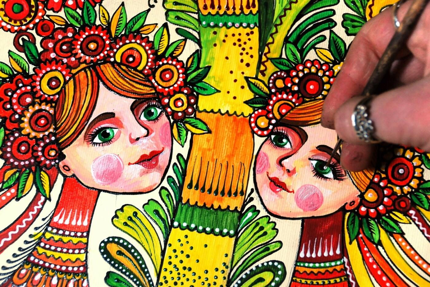 «Любовь к Украине мне привили родители»: харьковчанка Олеся Вакуленко, создавшая уникальные раскраски-антистресс, - ФОТО, фото-3