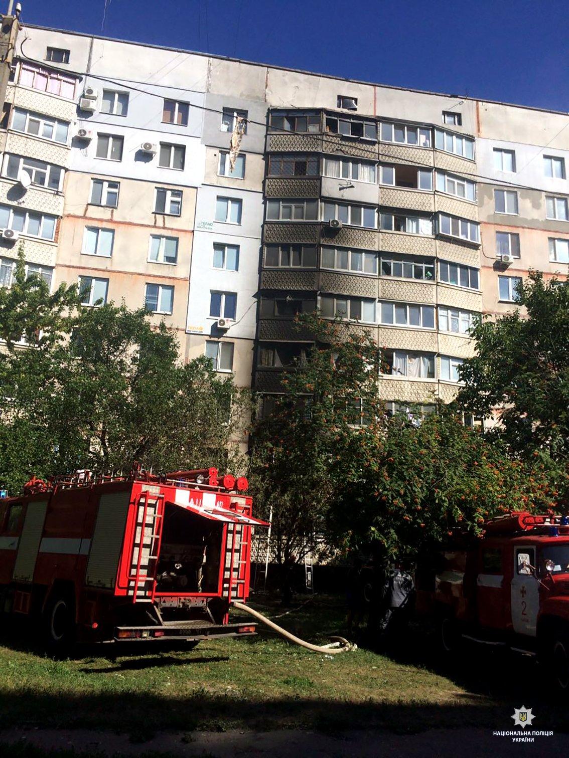 На Танкопия в многоэтажке взорвался бытовой газ, - ФОТО , фото-2