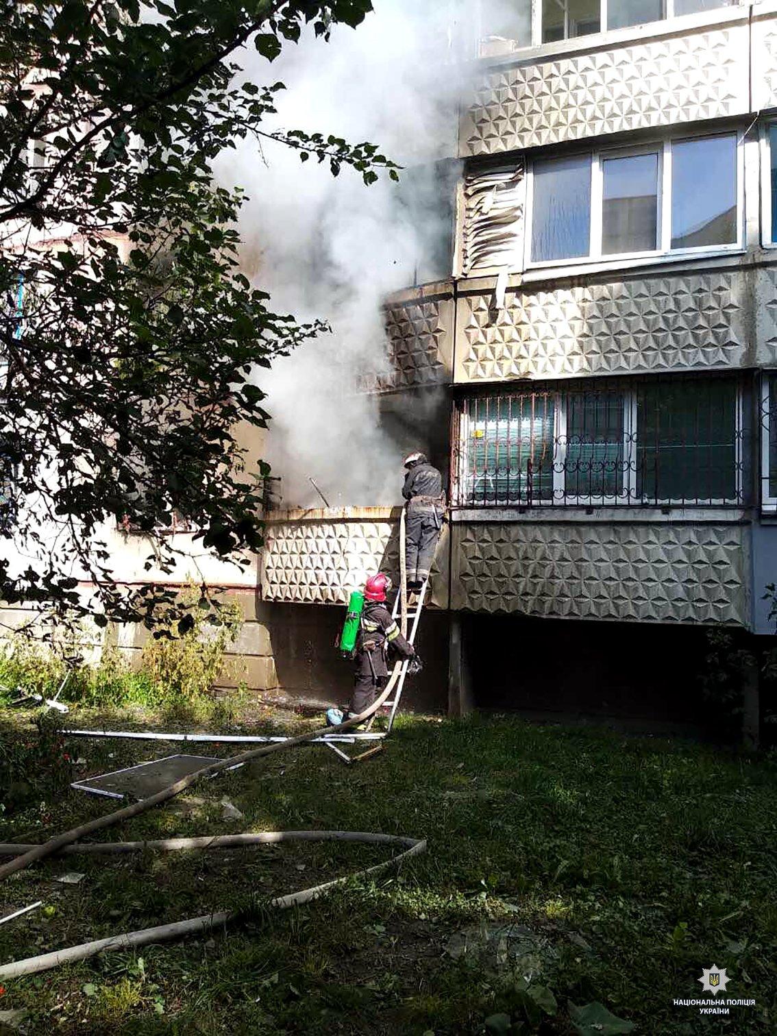 На Танкопия в многоэтажке взорвался бытовой газ, - ФОТО , фото-3