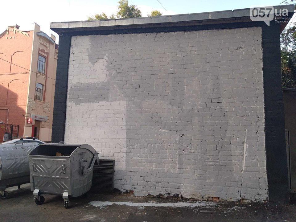 «Это шизофрения»: в центре Харькова залили краской граффити известного художника, - ФОТО, фото-3