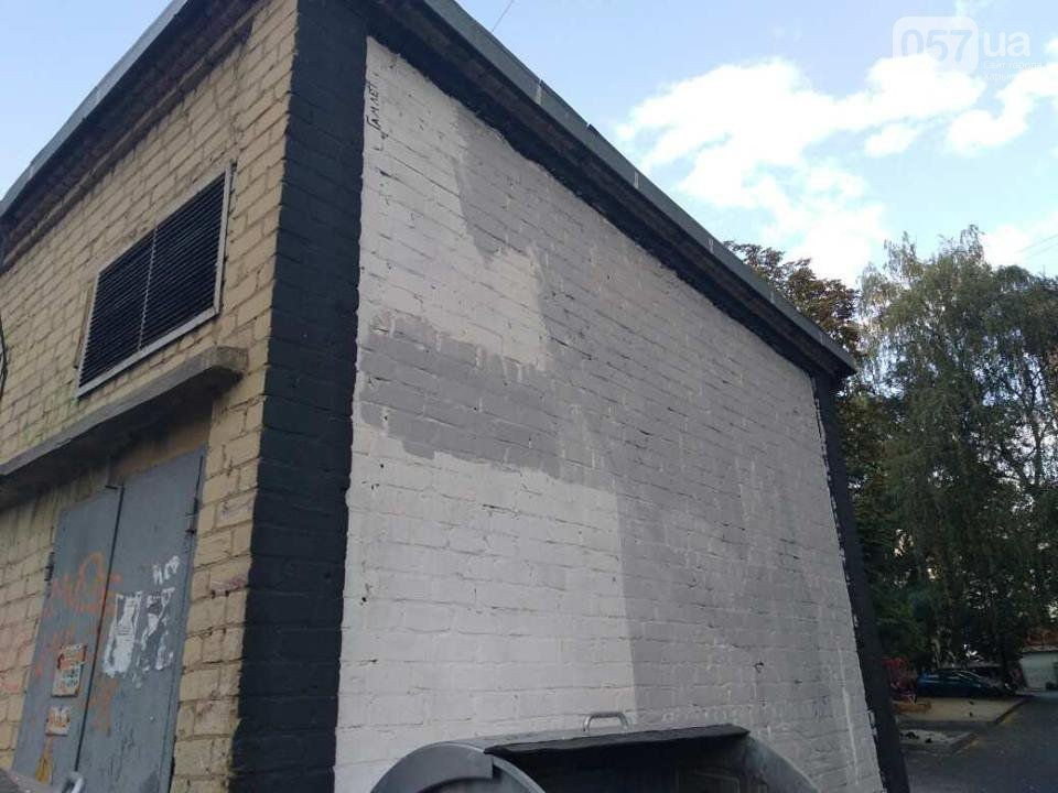 «Это шизофрения»: в центре Харькова залили краской граффити известного художника, - ФОТО, фото-4