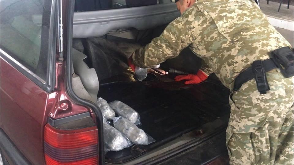 Под Харьковом служебный пес нашел в машине луганчанина 21 килограмм марихуаны, - ФОТО, фото-3