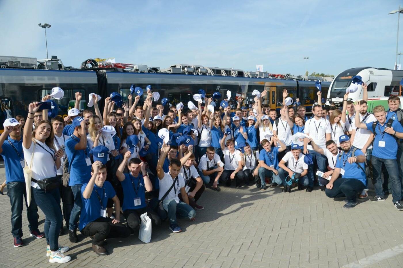 Юные железнодорожники Харькова посетили Германию в рамках престижного конкурса  , фото-2