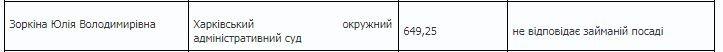 Не прошла собеседование: харьковская судья «провалилась» перед Комиссией, фото-4