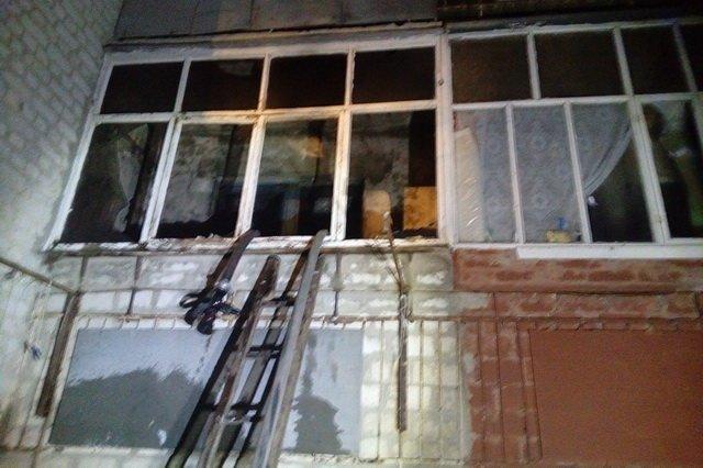 Пожар в многоэтажном доме под Харьковом. Спасатели эвакуировали 29 человек, - ФОТО , фото-1