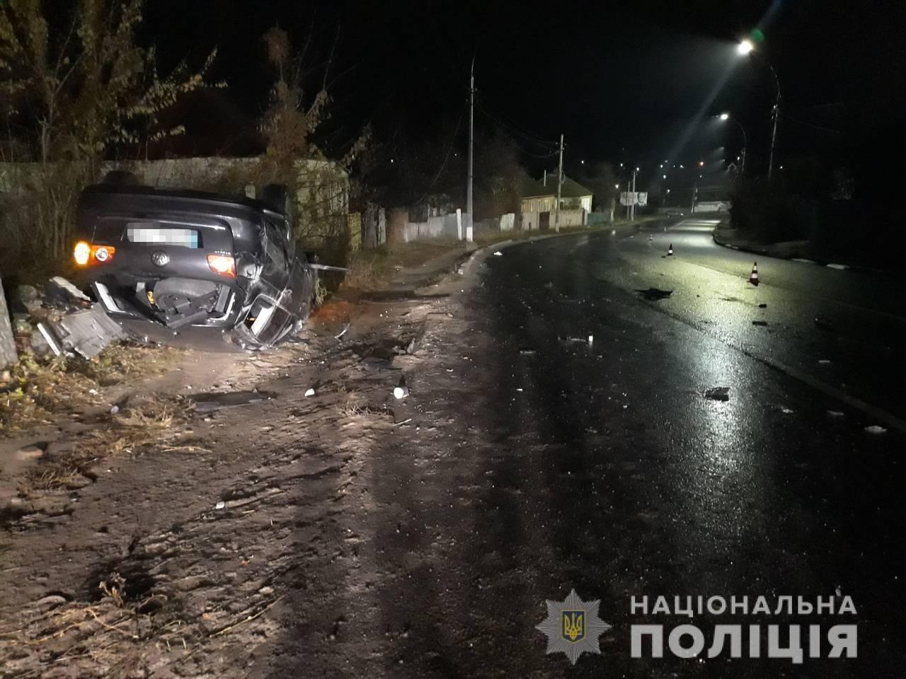 Под Харьковом парень взял машину у отца и врезался в столб. Погибла девушка, - ФОТО, фото-1
