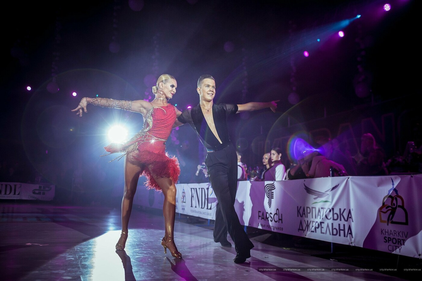 В Харькове прошел Международный фестиваль спортивного бального танца, - ФОТО, фото-1