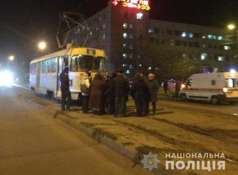 Пикет в Харькове. Люди заблокировали движение трамваев из-за отсутствия тепла, - ФОТО, фото-1