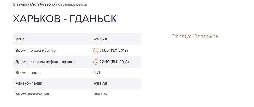 Из Харькова задерживают рейс в Польшу, фото-1